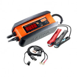 Chargeur mainteneur de charge automatique BBCE12-3 Bahco 3 A pour batteries 12V et Lithium LiFeP04