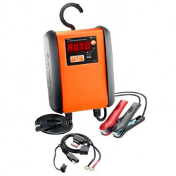 Chargeur mainteneur de charge automatique BBCE12-6 Bahco 6 A pour batteries 12V