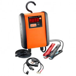 Chargeur mainteneur de charge automatique BBCE12-10 Bahco 10 A pour batteries 12V