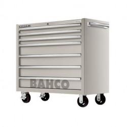 Servante d'atelier robuste 1475KXL7SS Bahco 7 tiroirs acier inoxydable