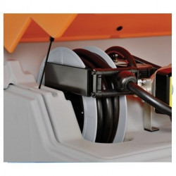Enrouleur gasoil Cemo 8 m de flexible Ø 19 mm Stations services GO CUBE