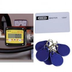 Compteur digital Cemo avec contrôle d'accès CMO 10