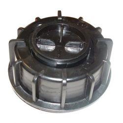 Bouchon noir Cemo pour cuves UNI/MULTI avec joint de bouchon