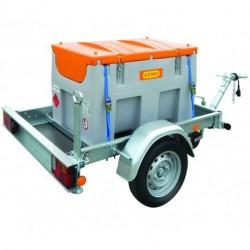 Stations services Easy Mobil Cemo sur remorque routière conforme ou homologuée ADR