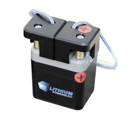 Batteries Lithium Cemo 12 V avec cosses et chargeur