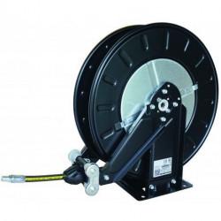 Enrouleur automatique graisse Cemo carrossé ouvert, 15 m Ø 8 mm