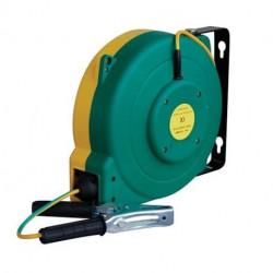 Enrouleur automatique Cemo pour liaison équipotentielle 16 m de câble