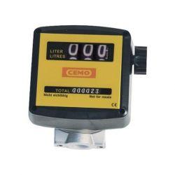 Compteur mécanique K33 Cemo pour huiles, 120 l/min
