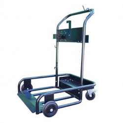 Chariot mobile de lubrification Cemo pour fût de 200 litres