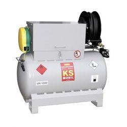 Station KS-Mobil de vidange électrique ATEX Cemo 300 litres Homologué ADR