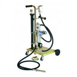 Unité mobile de vidange pneumatique ATEX Cemo