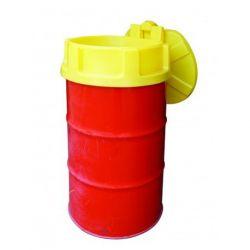 Entonnoir Cemo PE avec couvercle pour fût de 200 litres