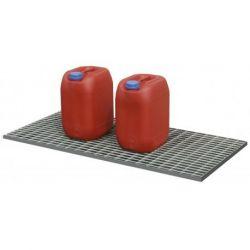 Caillebotis Cemo en acier galvanisé pour bac PLAT 30