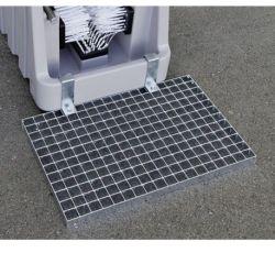 Paillasse caillebotis Cemo pour nettoyeur de bottes PE