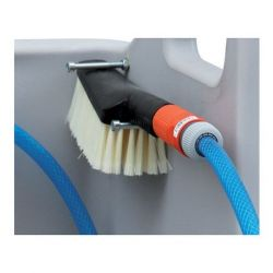 Brosse à poignée de rechange Cemo pour nettoyeur de bottes