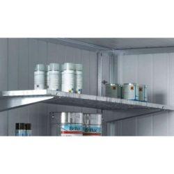 Rack Cemo avec 3 étagères courtes pour conteneur