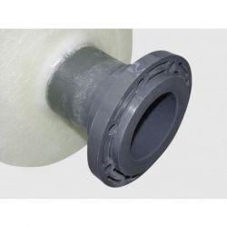Brides PVC Cemo moulées sur la cuve pour cuves ovales FV et coffres