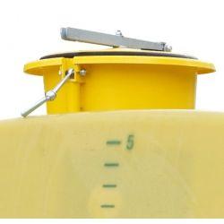 Trou d'homme Cemo Ø 360 mm complet jusqu'à 1 000 litres long