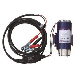 Groupe Motopompe électrique Cemo 12 V, 20 A, débit 30 l/min, pinces croco