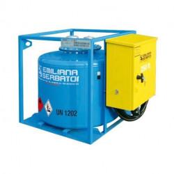Traspo 250 Emiliana Serbatoi, réservoir de transport de carburant aux normes ADR