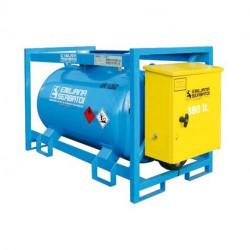 Traspo 380 Emiliana Serbatoi, réservoir de transport de carburant aux normes ADR