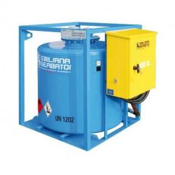 Traspo 450 Emiliana Serbatoi, réservoir de transport de carburant aux normes ADR