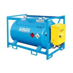 Traspo 910 Emiliana Serbatoi, réservoir de transport de carburant aux normes ADR