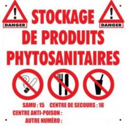 """Signalétique """"Les interdits"""" Axe Environnement"""