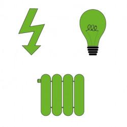 Option électricité - éclairage - chauffage Axe Environnement
