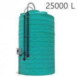 Cuve de stockage verticale - Engrais - Securitank 25 Premium Duraplas double paroi 25000L