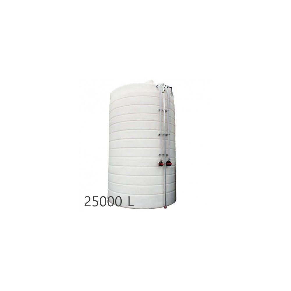 Cuve de stockage verticale - Engrais - Securitank 25 PowerFree Duraplas double paroi 25000L