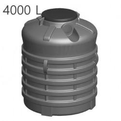Cuves enterrées verticales - Eau - Duraterre Duraplas (2000L à 9800L)