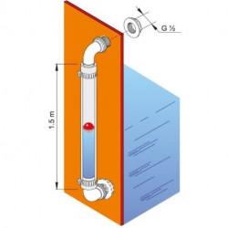 Niveau Levelindic Duraplas pour cuves de transport à eau Duracuve