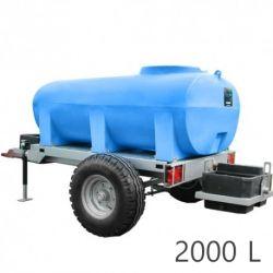 Châssis roulants et cuves à eau Duraplas (2000 à 3000L)