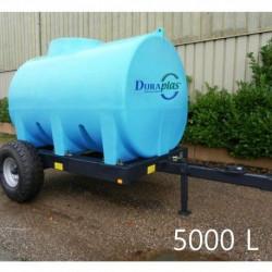 Châssis roulants et cuves à eau Duraplas homologué (5000 à 8000L)