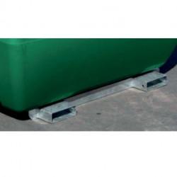 Châssis galvanisés Duraplas pour cuve de transport Transfioul 200L et 400L