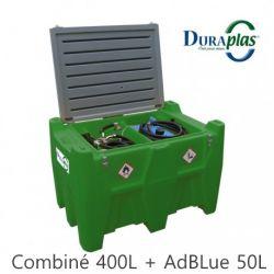 Cuve de transport - Fioul - Transfioul 400 Blue Duraplas (combiné 400l+ AdBlue 50l)