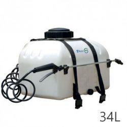 Pulvérisateur électrique ECOSPRAY Duraplas pour quad (34L)