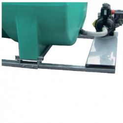 Châssis et rallonges de fixation Duraplas pour pompe