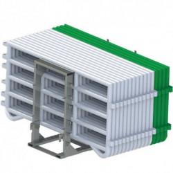 Pack barrières de contention Duracorral + Transcorral Duraplas