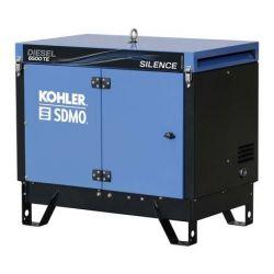 Groupe électrogène triphasé DIESEL 6500 TE SILENCE Kohler SDMO