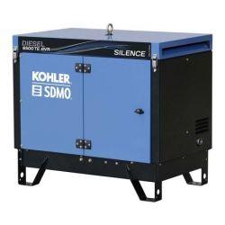 Groupe électrogène triphasé DIESEL 6500 TE SILENCE AVR Kohler SDMO