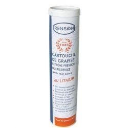 Cartouche de graisse Renson 400 gr. extrême pression grade 2