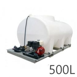 Nettoyeur haute pression Durawash Duraplas Interpump - 500 L