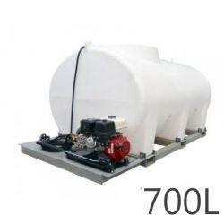 Nettoyeur haute pression Durawash Duraplas Interpump - 700 L