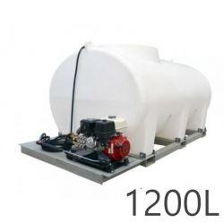 Nettoyeur haute pression Durawash Duraplas Interpump - 1200 L