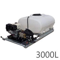 Nettoyeur haute pression + cuves Durawash Duraplas Interpump - 3000 L