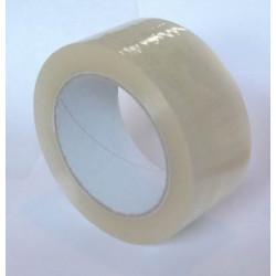 Adhésif polypropylène silencieux transparent 55mm par 100m en 28µ