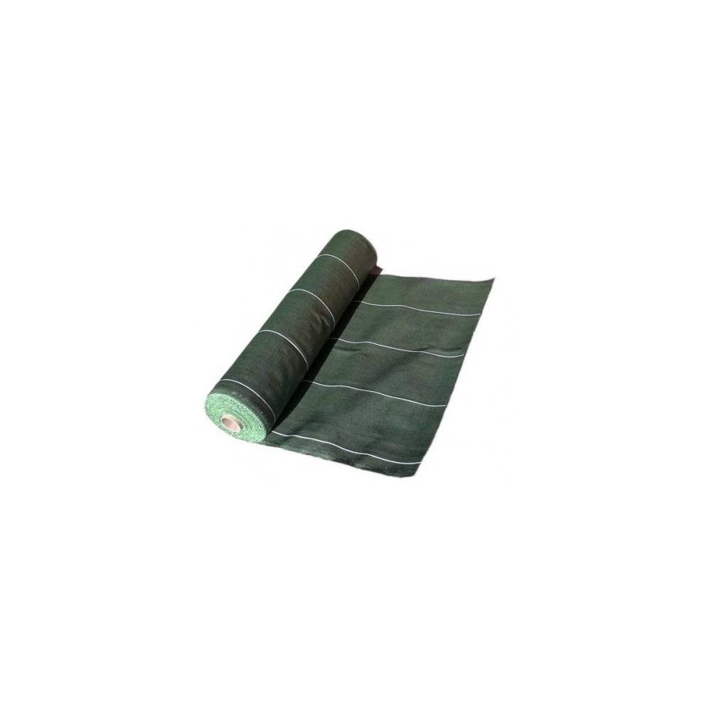 Toile Paillage Verte - Toile Hors-Sol PRO Haute Résistance 130 gr /m2 Rouleau de 100m