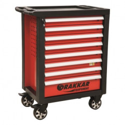 Servante Drakkar, 8 tiroirs - 205 outils